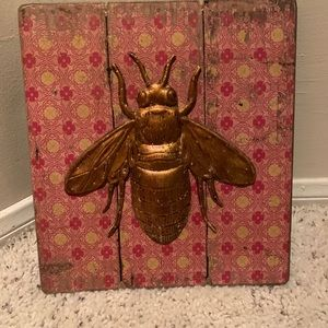 Bee Wall Plaque